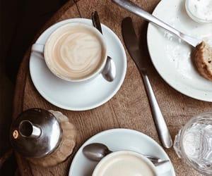 brown, coffee, and food image