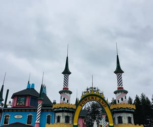 amusement, fun, and amusementpark image