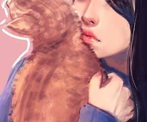 anime, pastel, and background image