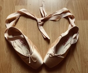 art, pointes, and ballet image