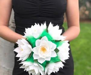 etsy, centertwine, and paper bouquet image