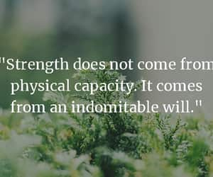 quote, quotes, and strength image