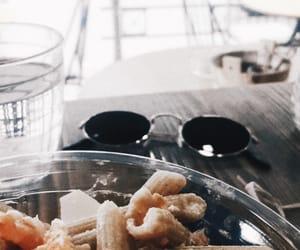 aesthetics, glasses, and food image