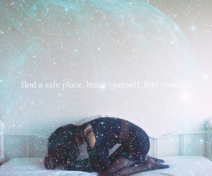 girl, safe, and typo image