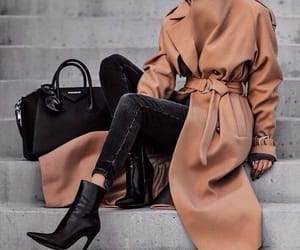 fashion, brown, and clothes image