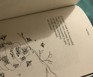 artsy, bee, and book image