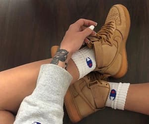 air force 1, champion, and nike image