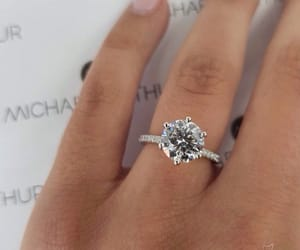 beautiful, hand, and ring image