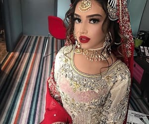 makeup, indian, and muslim image