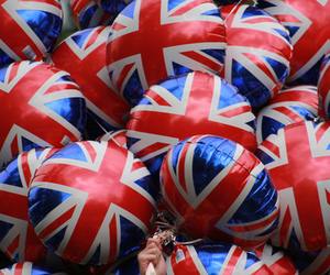 balloons, england, and london image