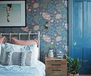 bedroom, home decor, and interior decorating image