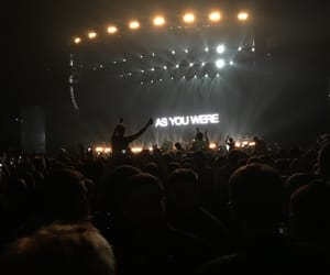 gallagher, parka, and concert image