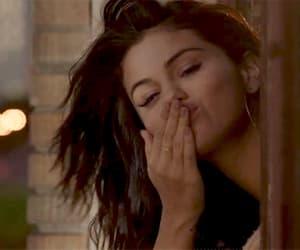 gif, selena gomez, and kiss image