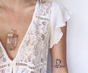 indie, necklace, and spring image