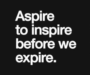 inspire, live, and expire image