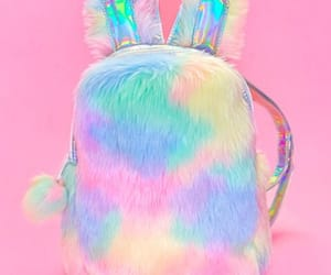 accessories, backpack, and bunny image