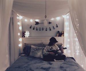 bedroom, beige, and 🎸 image