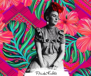 background, color, and Frida image