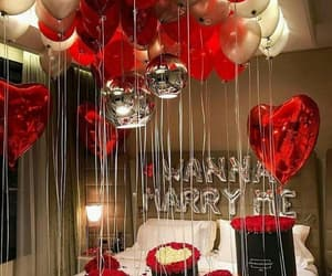 love, balloons, and goals image