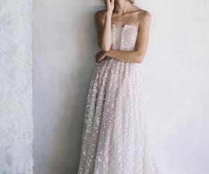 chic, white, and dress image