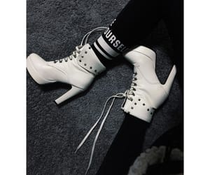 boots, high heels, and heute image
