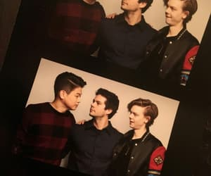 ki hong lee, dylan o'brien, and the death cure image