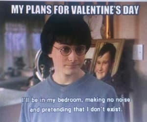 harry potter and Valentine's Day image