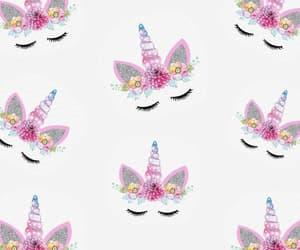 pattern and unicorn image