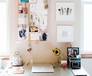 aesthetic, office, and desk image