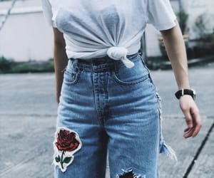boyfriend, outfit, and rose image