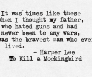 Harper Lee, quote, and to kill a mockingbird image