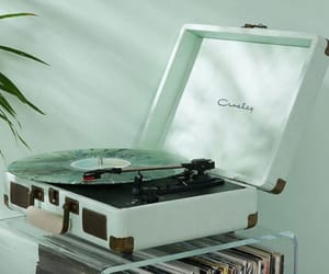 mint, aesthetic, and music image