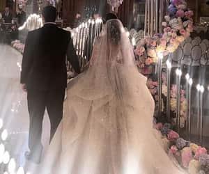 beauty, luxe, and wedding image
