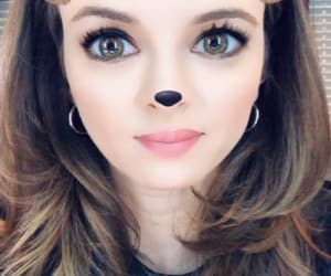 beauty, danielle panabaker, and qute image