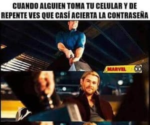 frases, fuuny, and Marvel image