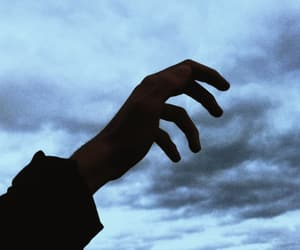 aesthetic, hand, and pale image