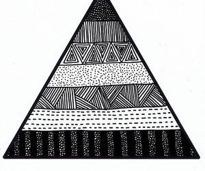 triangle and hipster image
