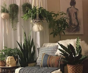 boho, decor, and interior image