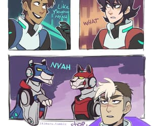 lions, shiro, and Voltron image