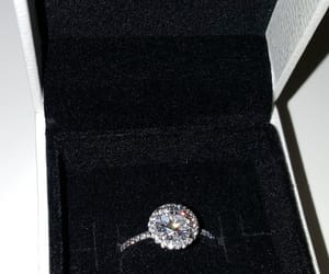 diamond, ring, and beautiful image