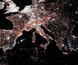 light, europe, and night image