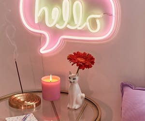 hello, ideas, and pink image
