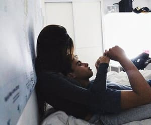 bed, goals, and couple image