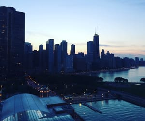 aesthetic, chicago, and city image