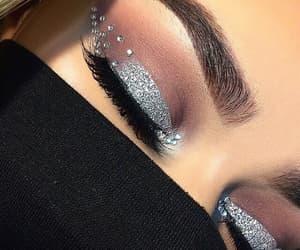 art, beautiful, and eyebrow image