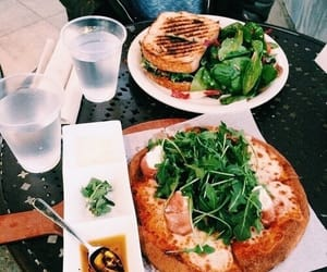 food, green, and orange image