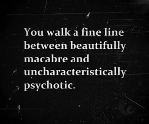 quotes and macabre image