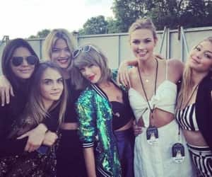 Taylor Swift, gigi hadid, and kendall jenner image