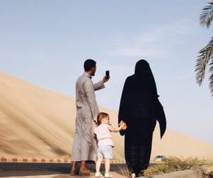 beauty, family, and islamic image