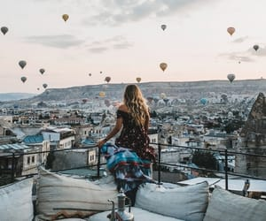 goreme, girl, and places image